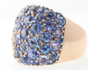 Dome Ring Sapphire